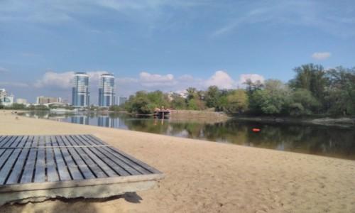 UKRAINA / Kijów / Hydropark nad brzegiem Dniepra / Hydropark nad brzegiem Dniepra 1