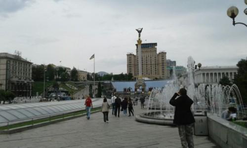 UKRAINA / Kijów / Majdan Niepodleglośći / Majdan Niepodleglośći-3
