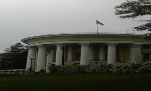 UKRAINA / Kijów / Ul. Instytuśka / Pałac Kultury