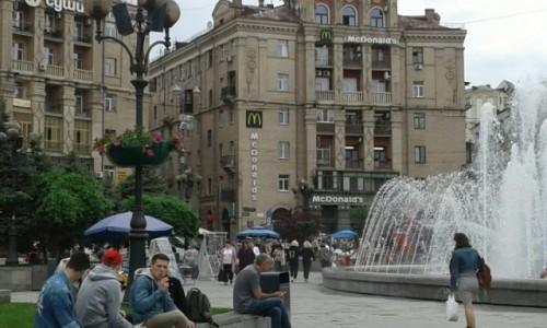 Zdjecie UKRAINA / Kijów / Majdan Niepodleglośći / Majdan Niepodleglośći