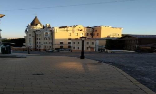 UKRAINA / Kijów / Zejście św. Andrzeja / Zamek Ryszarda Lwie Serce
