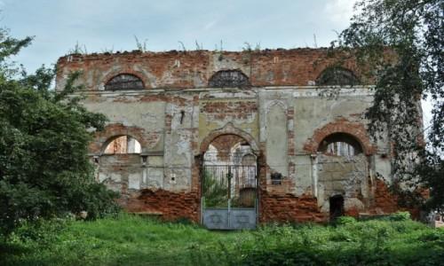 Zdjęcie UKRAINA / Obwód Lwowski / Stryj / Stryj, ruiny XIX w. synagogi