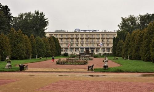 Zdjecie UKRAINA / Obwód Lwowski / Morszyn koło Stryja / Morszyn, sanatorium