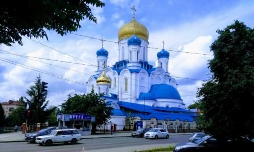 UKRAINA / Zakarpacie  / Użhorod / Cerkiew katedralna