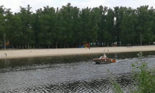 Zdjecie UKRAINA / Kijów / Hydropark Plaża / Hydropark nad brzegiem Dniepra