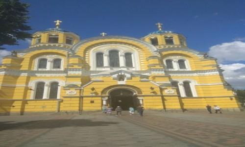 UKRAINA / Kijów / Bulwar T. Szewczenka, 20 / Katedra Wołodymyrśka w Kijowie-1