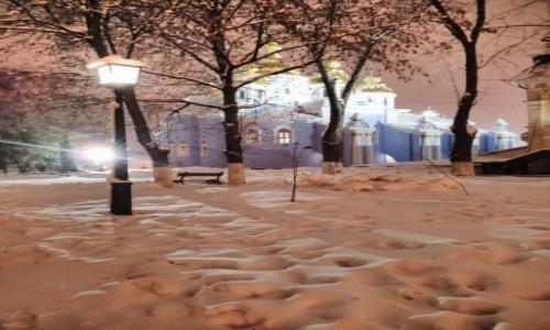 UKRAINA / Kijów / Ul. Trzechświatytelska / Klasztor św. Michała w Kijowie-1