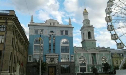 Zdjecie UKRAINA / Kijów / Plac Kontraktowy / Kościół św. Katarzyny-1