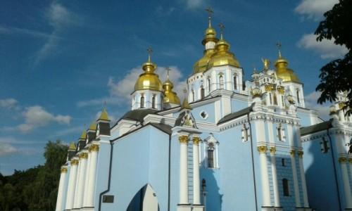 UKRAINA / Kijów / Ul. Trzechświatytelska, 6 / Klasztor św. Michała w Kijowie-5