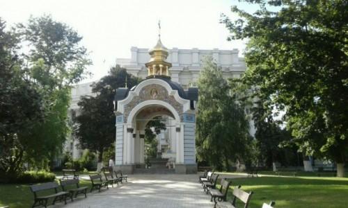 UKRAINA / Kijów / Ul. Trzechświatytelska, 6 / Klasztor św. Michała w Kijowie-8