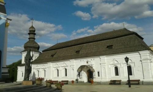 UKRAINA / Kijów / Ul. Trzechświatytelska, 6 / Klasztor św. Michała w Kijowie-9