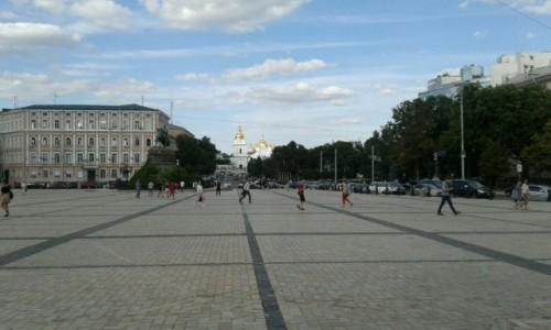 UKRAINA / Kijów / Plac Sw. Zofii w KIjowie / Plac Sw. Zofii w KIjowie