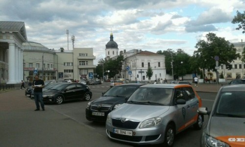 UKRAINA / Kijów / Plac Kontraktowy / Plac Kontraktowy w Kijowie-3