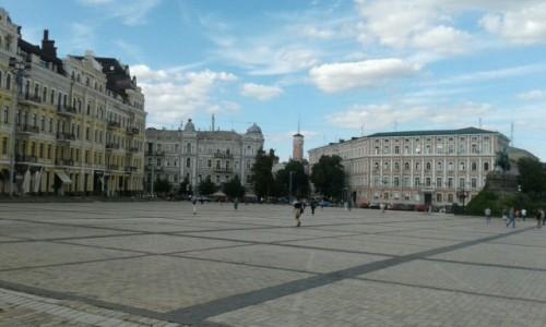 UKRAINA / Kijów / Plac Zofii / Plac sw. Zofji