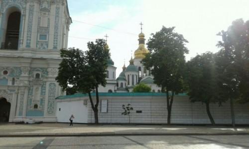 UKRAINA / Kijów / Plac Sofijowski / Katedra Sofia Kijowska-2