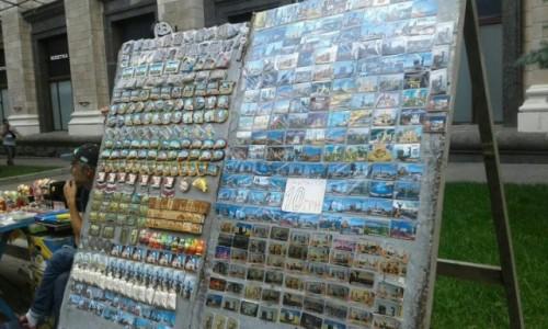 Zdjecie UKRAINA / Kijów / Plac Niezałeżności / Pamiątki z Ukrainy-3