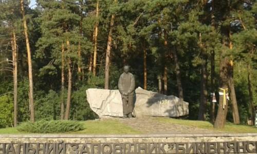 Zdjecie UKRAINA / Kijów / Bykownia / Memoriał Bykownia-3