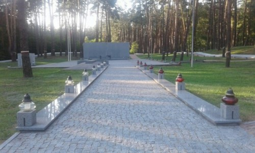 UKRAINA / Kijów / Bykownia / Memoriał Bykownia-5