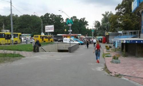 Zdjecie UKRAINA / Kijów / Metro Nywki / Dzielnica Nywki