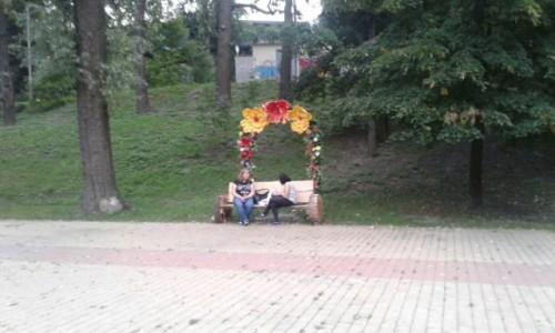 Zdjecie UKRAINA / Kijów / Park Nywki / Plac zabaw