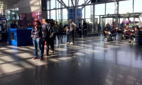Zdjecie UKRAINA / Kijów / Kijów / Port lotniczy Boryspil w Kijowie-2