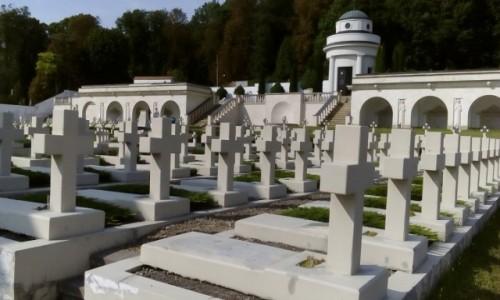 Zdjecie UKRAINA / - / Lwów / Cmentarz Obrońców Lwowa
