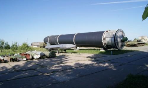 Zdjecie UKRAINA / Perwomajsk / Baza wyrzutni rakiet międzykontynentalnych / SS 18 SATAN