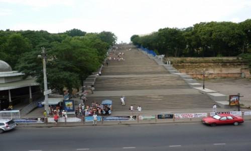 Zdjecie UKRAINA / - / Odessa / Bardzo dlugie schody