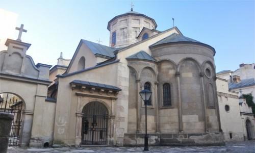 Zdjecie UKRAINA / Obwód lwowski / Lwów / Katedra Ormiańska we Lwowie