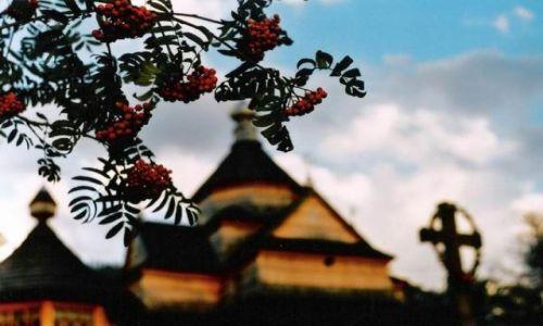 Zdjecie UKRAINA / Karpaty / Worochta / Cerkiew