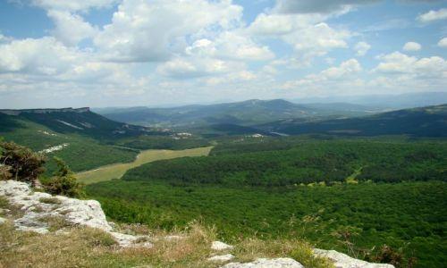 Zdjecie UKRAINA / półwysep Krymski / Mangup / widok z Mangup
