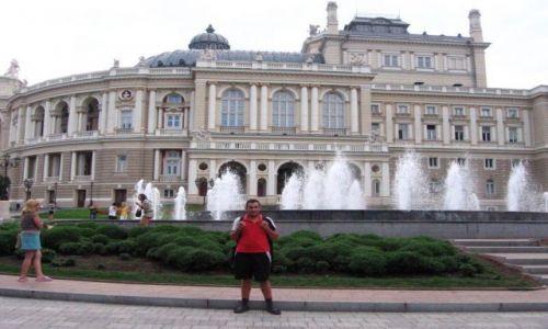 UKRAINA / brak / Odessa / Ja w Odessie