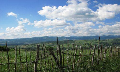 UKRAINA / brak / gdzieś w Karpatach :) / płotek