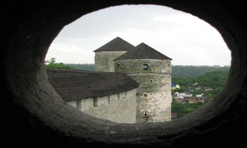 UKRAINA / brak / Kamieniec Podolski / dwie wieże