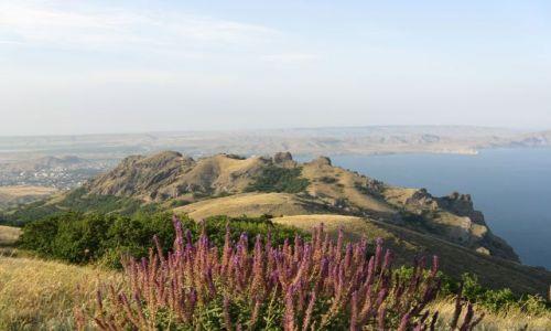 UKRAINA / brak / w górach pomiędzy Konstancją, a Koktebel / Rezerwat Kara-dag