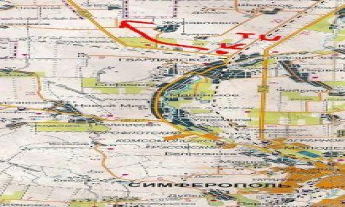 UKRAINA / Krym / Simferopol / Wyjazd z Simferopola na Kijów