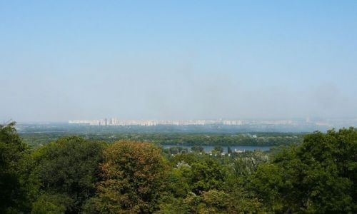 Zdjęcie UKRAINA / Kijów / punkt widokowy / panorama