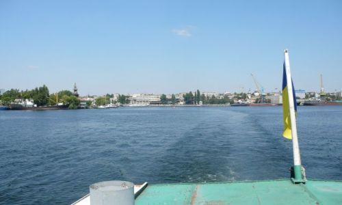 Zdjęcie UKRAINA / Cherson / Port / widok na Cherson