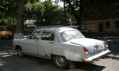 Zdjecie UKRAINA / Odessa / ulica / retro nie retro
