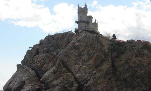 Zdjecie UKRAINA / Autonomia Krymska / Yalta / Jaskolcze gniazdo w okolicach Jalty