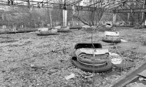Zdjecie UKRAINA / brak / strefa zero / od 20 lat nikt tu się nie bawi