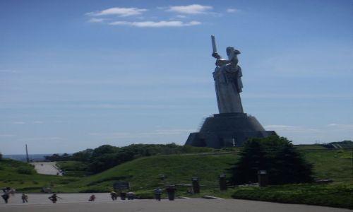 Zdjecie UKRAINA / Kijów  / Kijów / Jedno z ważniejszych miejsc w Kijowie Pomnik Matki Ojczyzny wraz z kompleksem Muzeum Wojny 1941-1945