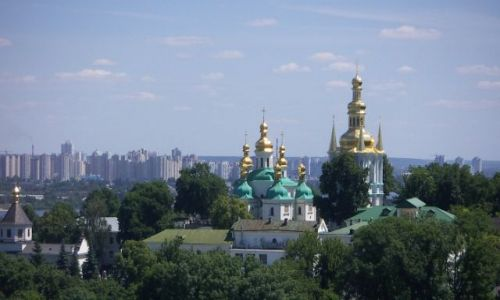 Zdjecie UKRAINA / Kijów  / Kijów / Jedno z ważniejszych miejsc w Kijowie Ławra Peczerska i