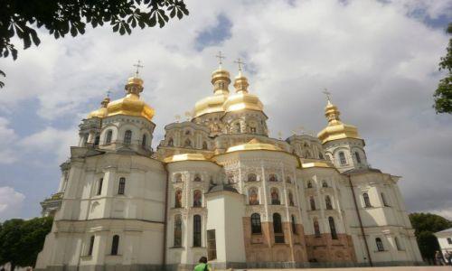 Zdjecie UKRAINA / Ławra kijowska / Kijów / cerkiew