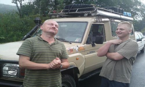 Zdjecie UKRAINA / - / granica / na trasie