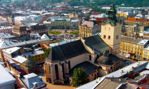 Zdjecie UKRAINA / Zachodnia Ukraina / Lwów / Katedra Łacińska we Lwowie.