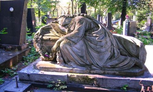 Zdjęcie UKRAINA / Obwód Lwowski / Lwów - Cmentarz Łyczakowski / pomnik nagrobny