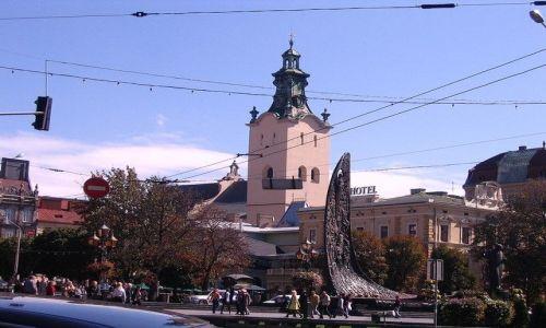 UKRAINA / Obw�d Lwowski / Lw�w  / Katedra �aci�ska [polska]