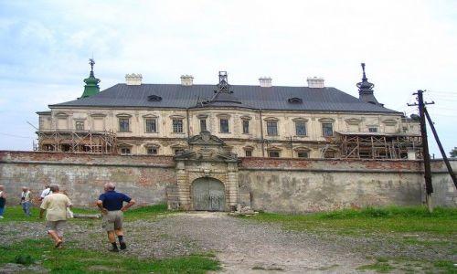 Zdjęcie UKRAINA / Lwowski / Podhorce / Pałac  - zamek w Podhorcach