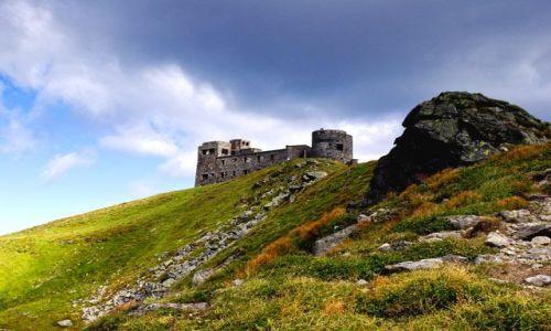 Zdjecie UKRAINA / Czarnohora / Pop Iwan / Ruiny obserwatorium